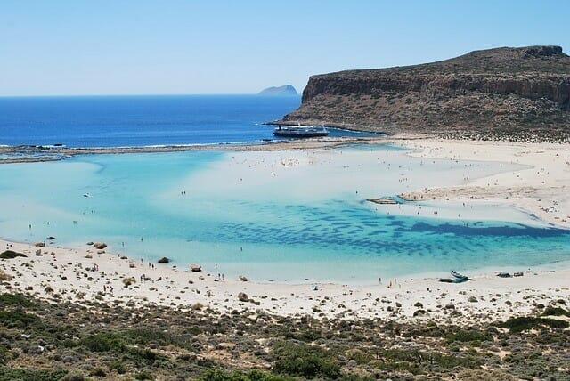 Lagune von Balos Kreta