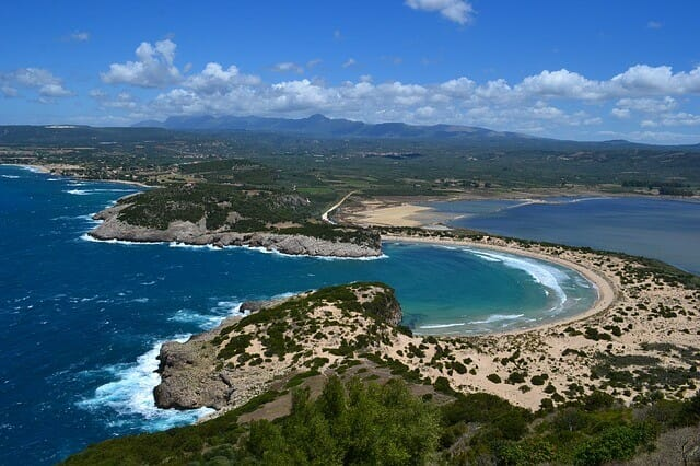 Voidokilia, Griechenland