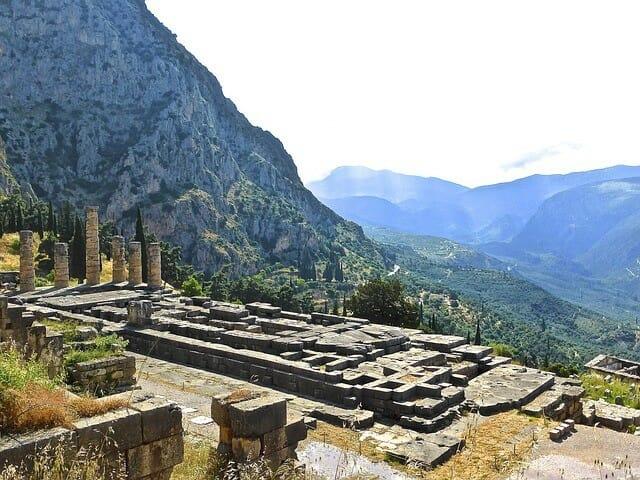 Apollontempel in Delphi