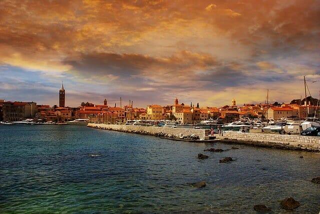 Insel Rab Kroatien