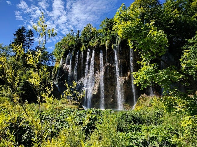 Wasserfälle Kroatien Plitvicer Seen