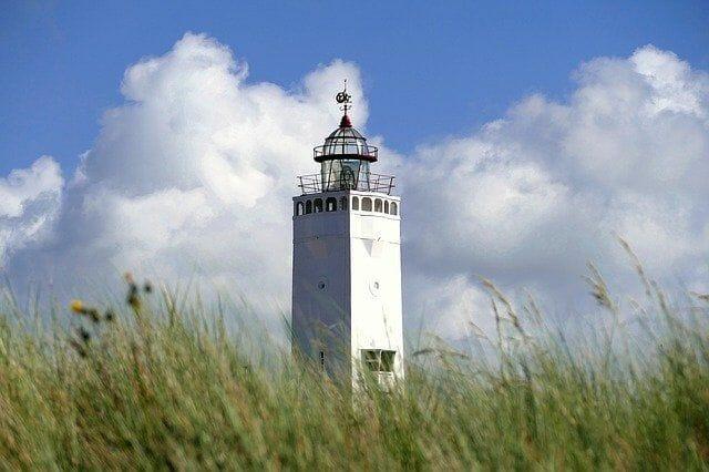 Leuchtturm von Noordwijk am Meer