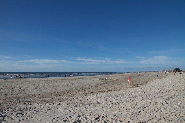 St Peter Ording Strand Länge