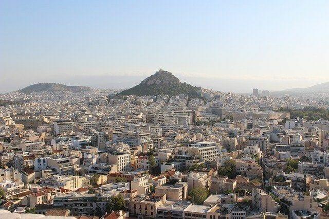 Ausblick auf Athen