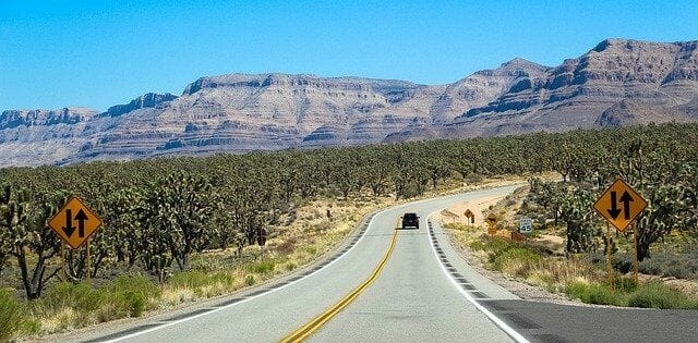 Wo liegt die Mojave Wüste?
