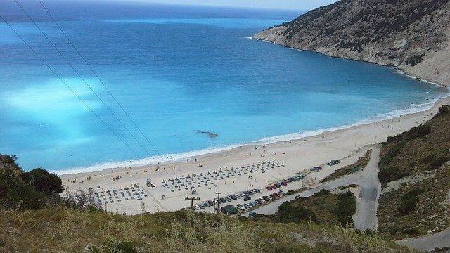 Myrtos Beach Beschreibung