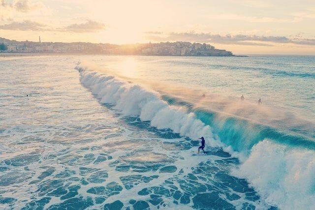 Surfen am Bondi Beach