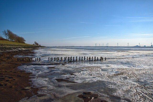 Hat Emden einen Strand?