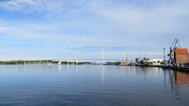 Badestrand am Stralsund