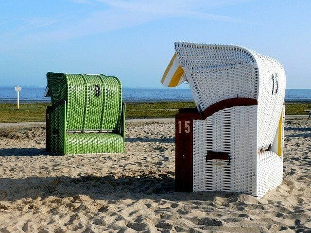 Dangast Strandkörbe