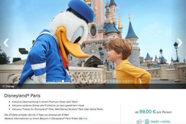 Disneyland Paris Eintritt und Hotel