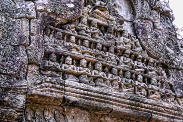 Alter der Tempelanlage