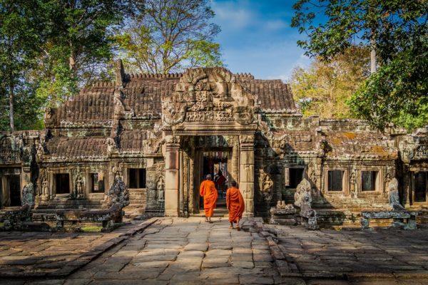 Die Geschichte von Angkor Wat