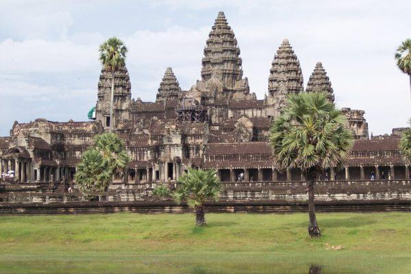 Die größe des Tempels