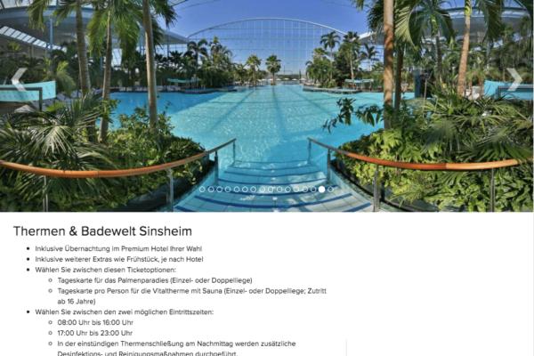Thermen & Badewelt Sinsheim