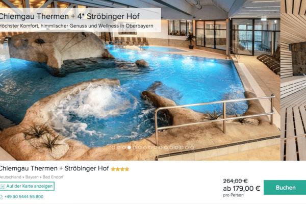 Chiemgau Therme Angebot