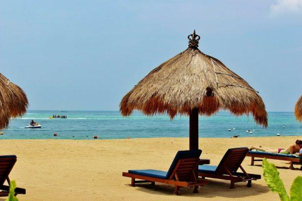 Entspannen in der dritten Woche auf Nusa Dua