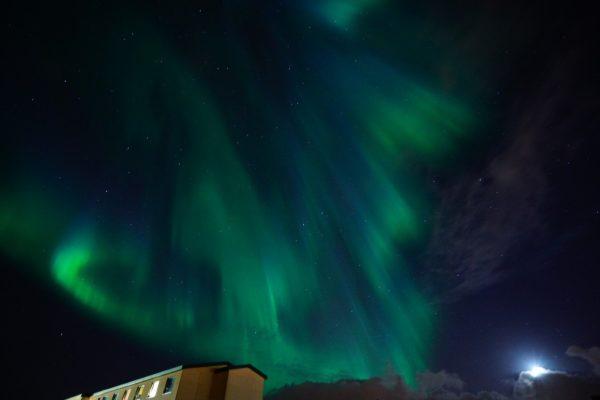 Die beste zeit um die Polarlichter zu sehen
