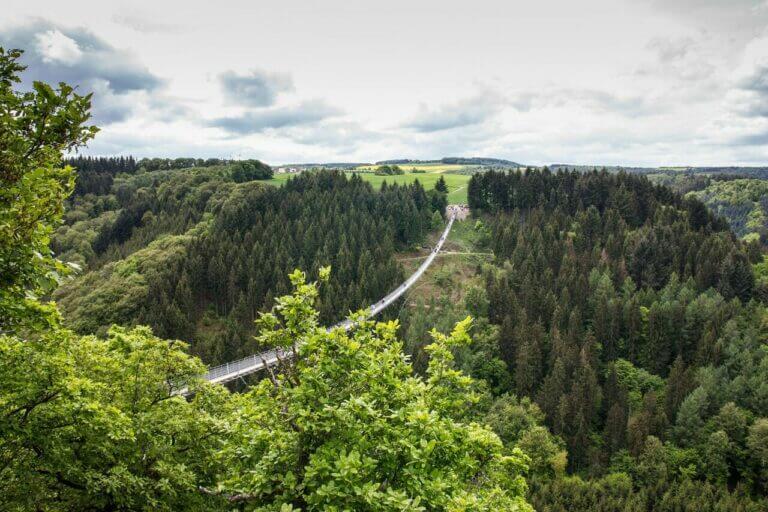 Hängebrücken in Deutschland