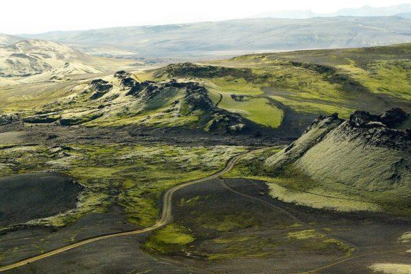 Welche sind die wichtigsten Vulkane auf Island?