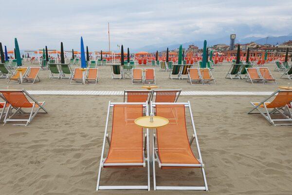 Ist der Strand von Viareggio kostenlos zugänglich?