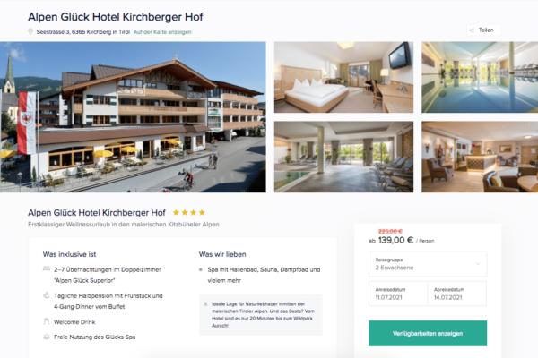 Kirchberger Hof Angebot