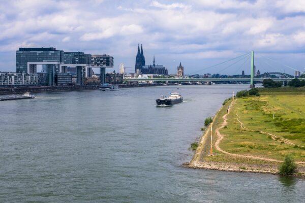 Städte die direkt am Rhein liegen