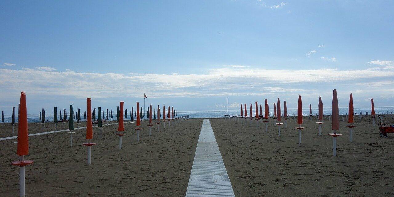 Viareggio Strand
