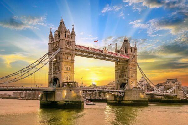 Tower Bridge Sonnenuntergang