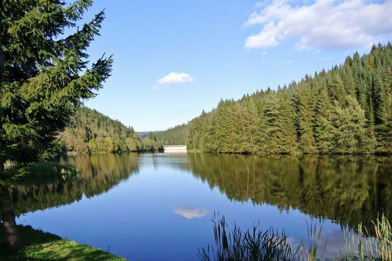 Größten Seen in Niedersachsen