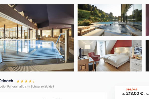 Hotel Therme Bad Teinach Angebot