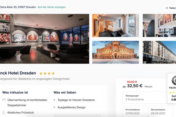 Penck Hotel Dresden Angebot