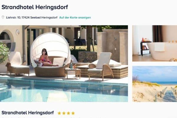 Strandhotel Heringsdorf Angebot