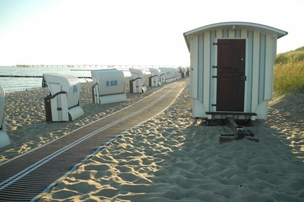 Strandkörbe am Graal Müritz Strand