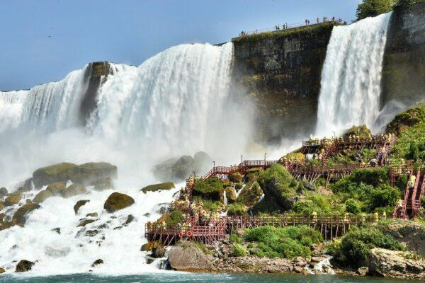 Wie sind Niagarafälle entstanden?